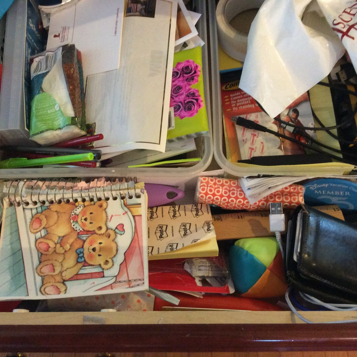 The Junk In My Drawers…